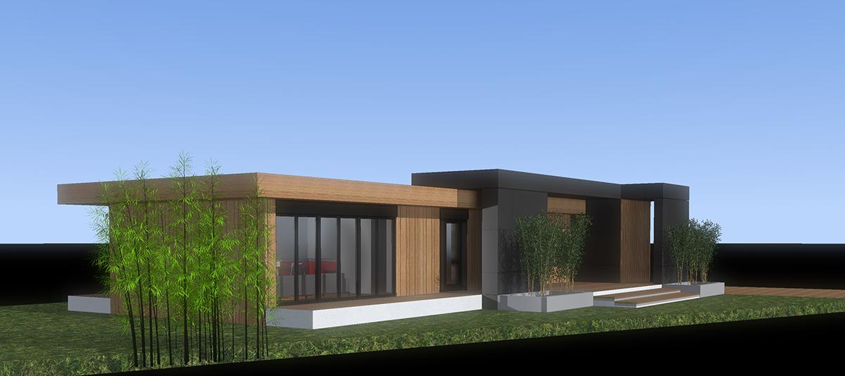 Projet de maison individuelle popup cesson bretagne for Projet maison individuelle